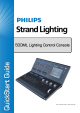 Philips Strand Lighting Quick Start Manual