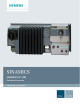Siemens SINAMICS G110D Operating Instructions Manual