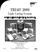 DENTSPLY TRIAD 2000 Operating & Service Manual