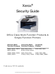 Xerox AltaLink B8045 Security Manual