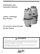 Jandy Versa-Plumb CV Series Installation And Operation Manual
