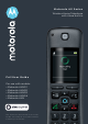 Motorola AX Series User Manual