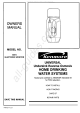 Kenmore 625.347051 Owner's Manual