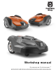 Husqvarna Automower 420 Workshop Manual