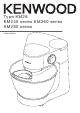 Kenwood KM240 Series Instructions Manual