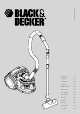 Black & Decker VO1700A Manual