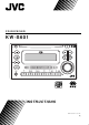 JVC KW-S601 Instructions Manual