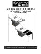 Craftex CX Series User Manual