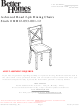 Better Homes and Gardens Ashwood Road 2-pk Dining Chairs BH12-093-001-12 Assembly Instructions Manual