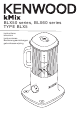 Kenwood kMix BLX50 Series Instructions Manual