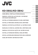 JVC KD-DB52 Installation Manual