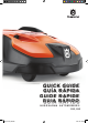Husqvarna AUTOMOWER 520 Quick Manual